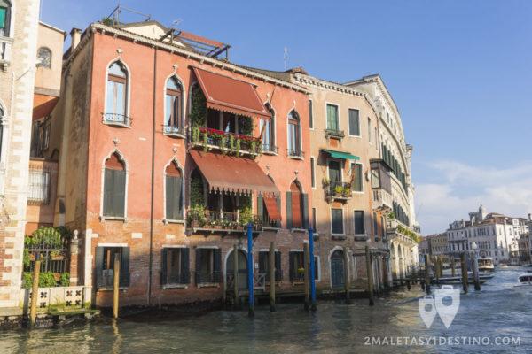 Fachada tipica en Venecia