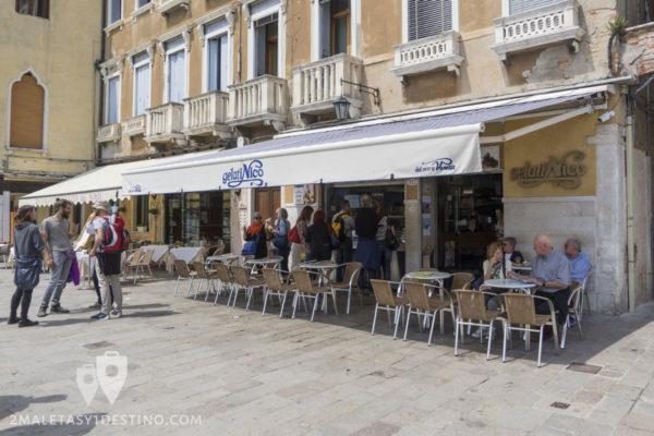 Gelati Nico en Venecia
