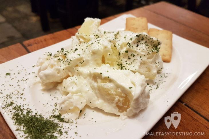 Patatas alioli - Casa Morales