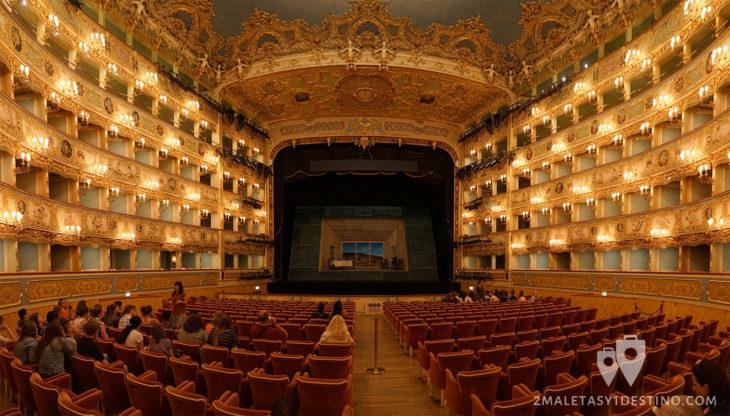 Teatro de la Fenice en Venecia