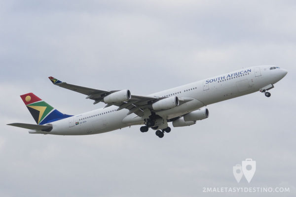 Airbus A340-313E (ZS-SXA) South African Airways