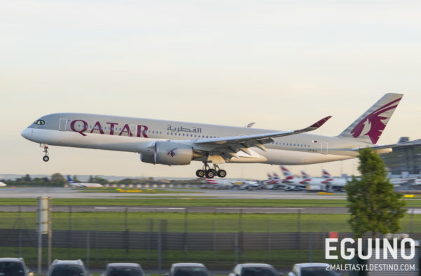 Airbus A350-941 (A7-ALA) Qatar Airways