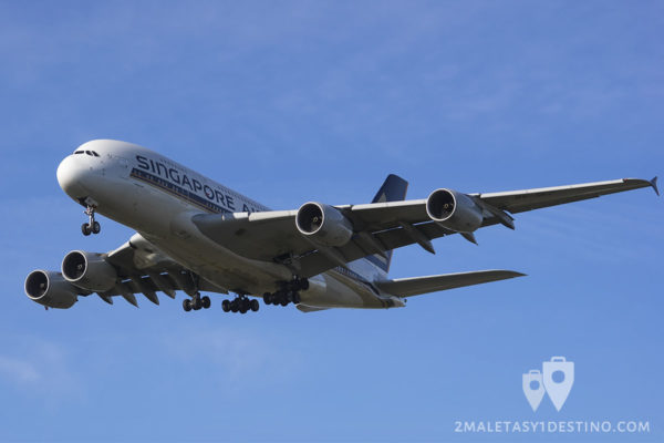 Airbus A380-841 (9V-SKC) Singapore Airlines
