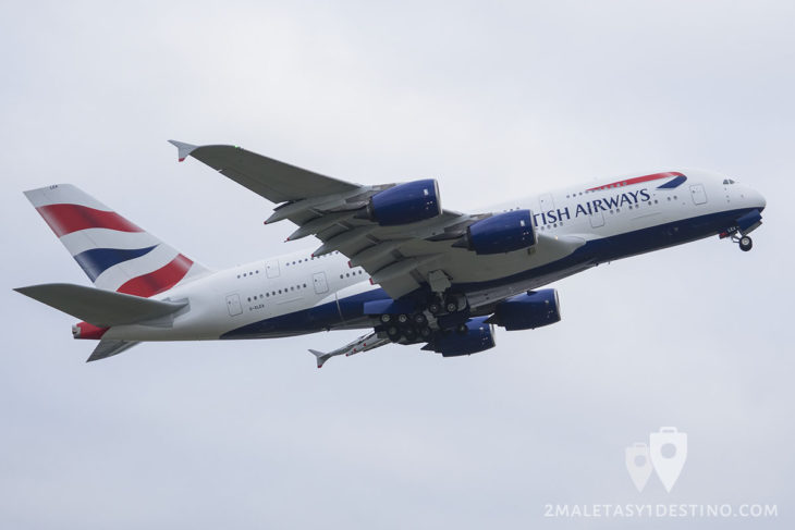 Airbus A380-841 (G-XLEA) British Airways
