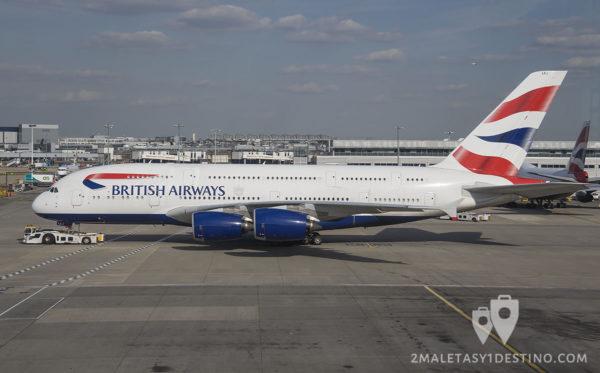 Airbus A380-841 (G-XLEJ) British Airways