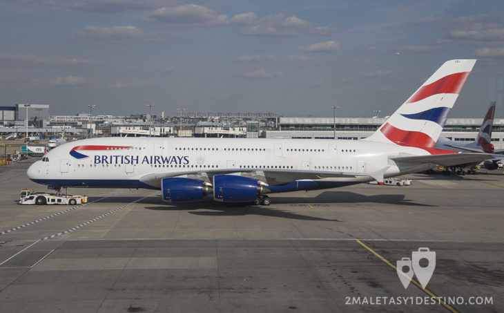 Airbus A380-841 (G-XLEJ) British Airways