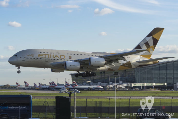 Airbus A380-861 (A6-APA) Etihad Airways