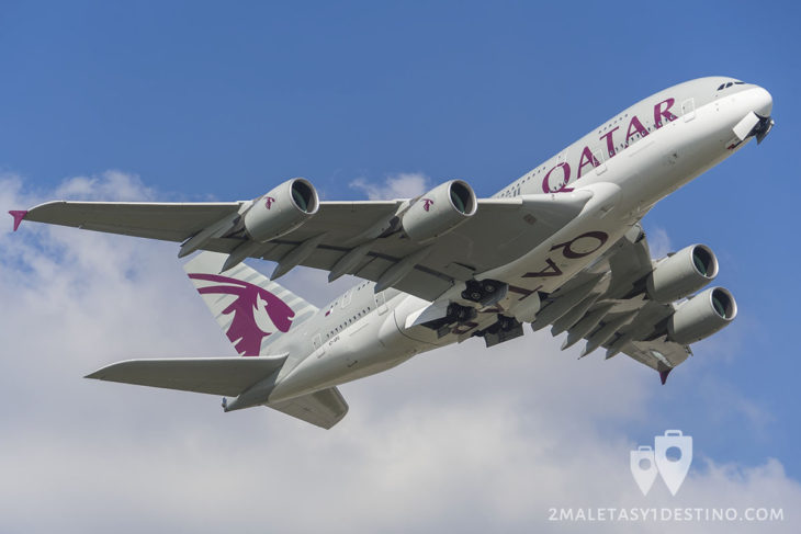 Airbus A380-861 (A7-APG) Qatar Airways