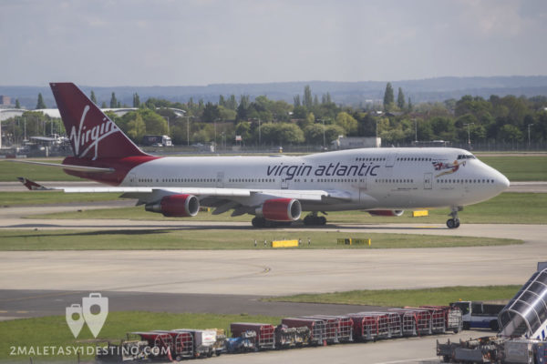 Boeing 747-443 (G-VGAL) Virgin Atlantic Airways