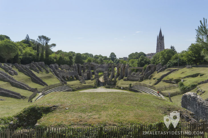 Anfiteatro Romano de Saintes - Francia