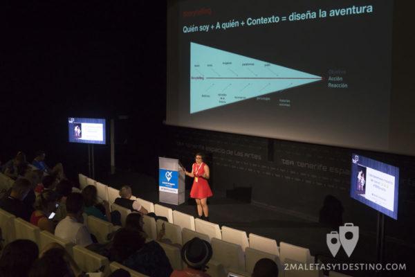 Anita Ideas, story telling en el TBM Tenerife