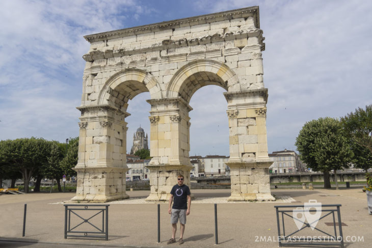 Arco greco romano de Saintes - Francia