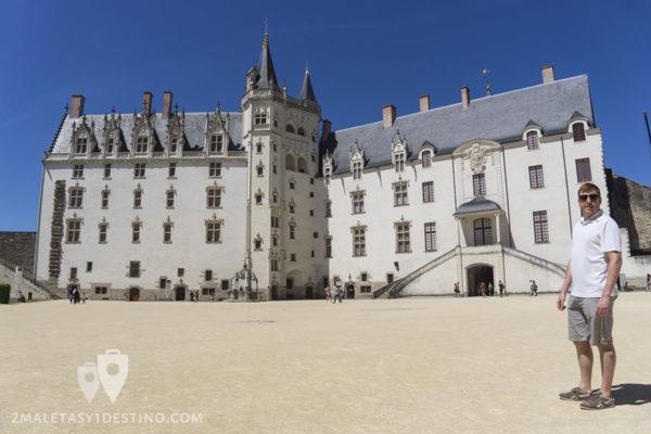Castillo de los Duques de Bretaña en Nantes - Francia