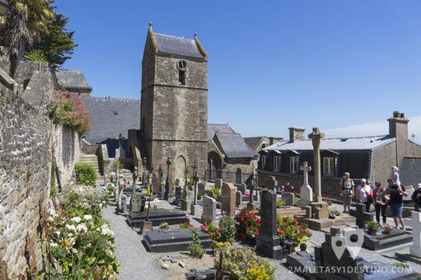 Cementerio en el Mont Saint Michel