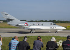 Dassault Falcon 10MER Marine Nationale 143 Tiger Meet 2017