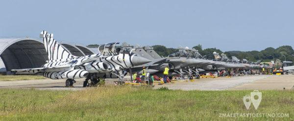 Dassault Rafale en el Tiger Meet 2017