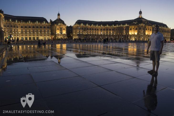 El Espejo de Agua en Burdeos - Francia