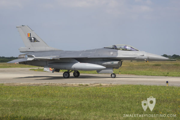 F-16 A/B MLU Fighting Falcon (31 smd Kleine Brogel)