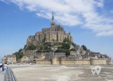 Mont Saint Michel y bahia - Francia