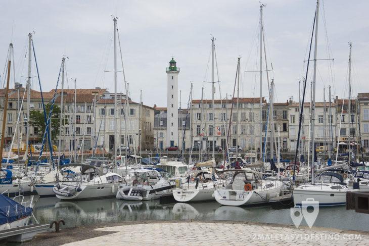 Puerto deportivo de La Rochelle - Francia