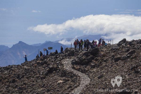 Ruta en el Teide