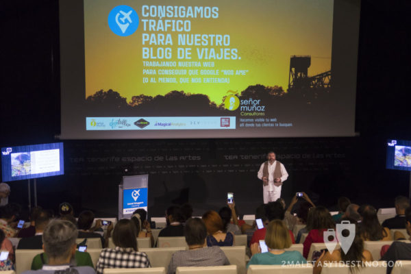 Señor Muñoz charla trafico SEO #TBMTenerife