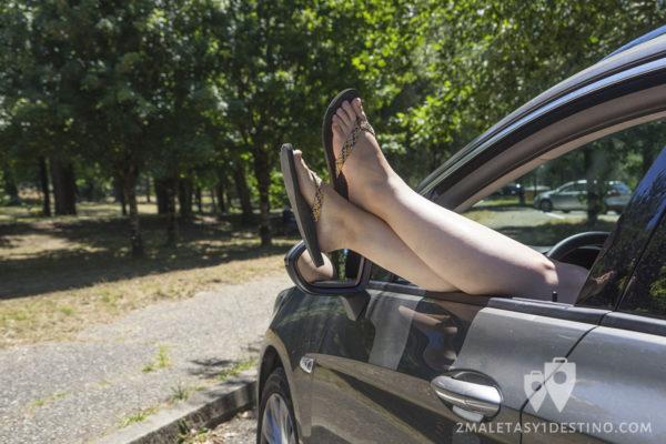 Sixt y 2maletas de relax en Francia