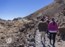 Trekking en el Teide