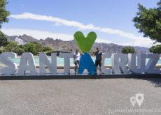 Vanina y Eguino en Santa Cruz de Tenerife