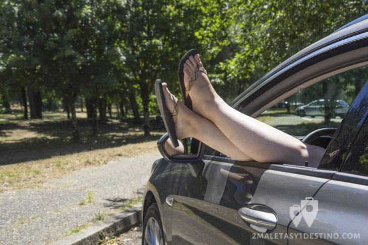 Viajar comodamente con coche de alquiler Sixt
