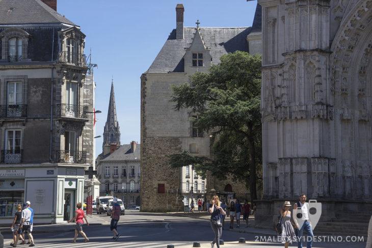 Vistas de Nantes desde la Catedral - Francia