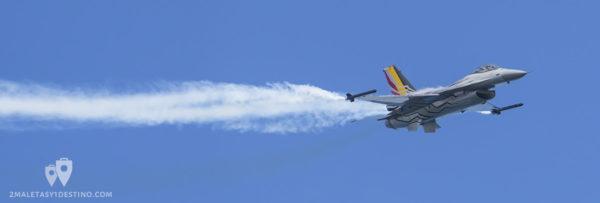 F-16 Fuerza Aérea Belga