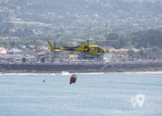 Helicóptero AS-350 Bombero Asturias