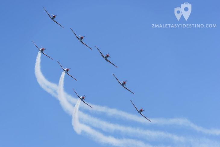 PC-7 Team de la Fuerza Aérea Suiza