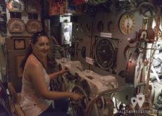 Pilotando el Submarino Espadon en Saint Nazaire en Francia