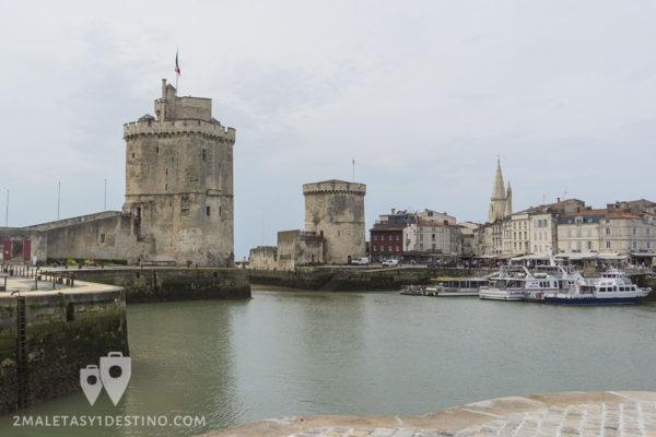 Torres de La Rochelle en Francia