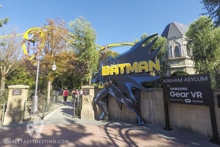 Batman Arkham Asylum con Samsung Gear VR y Oculus