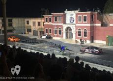 Espectáculo de coches y motos