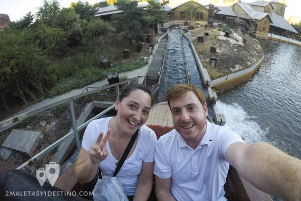 Río Bravo atracción de agua