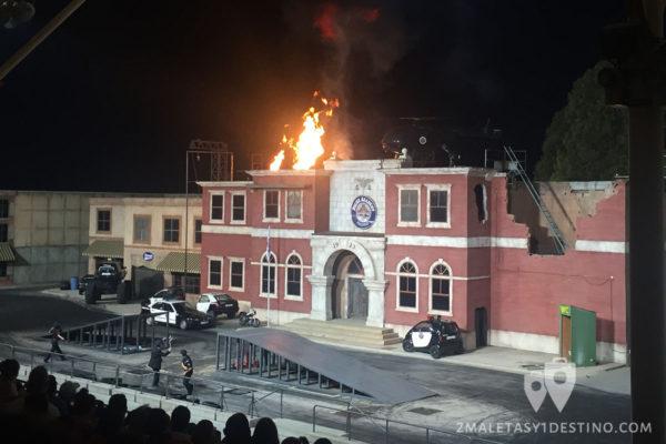 Saltos y explosiones