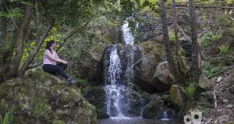 Cascadas de Guanga - Cascada doble Vanina