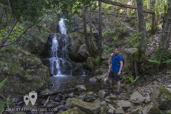 Cascadas de Guanga - Cascada doble y Eguino