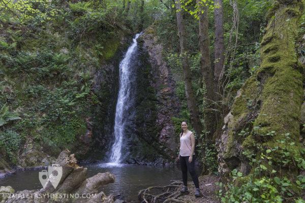 Cascadas de Guanga - Cascada y Vanina