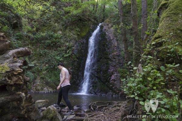 Cascadas de Guanga - Cascadas y Vanina