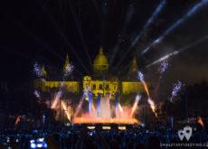 Espectáculo Piromusical Fiestas de la Mercé - Fuego en la Fuente Mágica