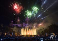 Espectáculo Piromusical Fiestas de la Mercé - Fuegos de colores