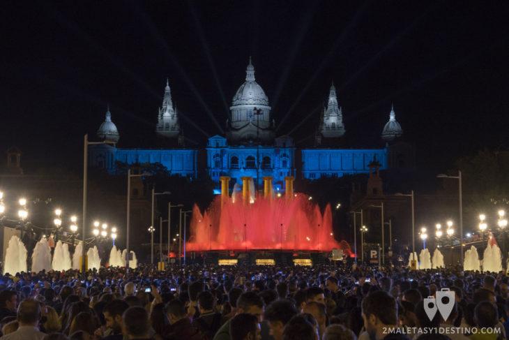Espectáculo Piromusical Fiestas de la Mercé - Paseo María Cristina
