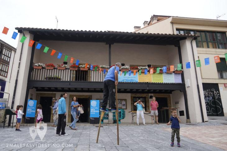 Casa del Chino con juegos tradicionales