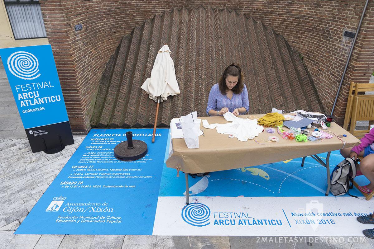 Festival Arcu Atlanticu - Customizacion ropa