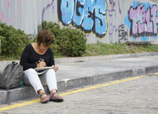 Urban Sketchers Gijón - Arcu Atlanticu